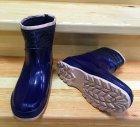 Резиновые сапоги Selena с утеплителем 41 25,7 см синие - изображение 6