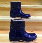 Резиновые сапоги Selena с утеплителем 41 25,7 см синие - изображение 7