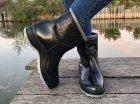 Резиновые сапоги Selena с утеплителем 41 25,7 см черные - изображение 7