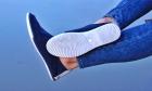 Мокасины Desun 36 23,5 см синий - изображение 6