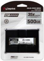 Kingston KC2000 500GB NVMe M.2 2280 PCIe 3.0 x4 3D NAND TLC (SKC2000M8/500G) - зображення 3