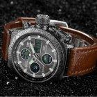 Мужские Армейские Противоударные Часы AMST 3003 Brown - изображение 5