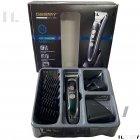 Машинка для стрижки волос и бороды профессиональная аккумуляторная с 7 насадками Geemy GM-800 - изображение 8
