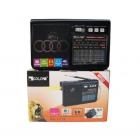 Радиоприёмник-колонка аккумуляторный Golon RX-1313 MP3 USB SD Черный - изображение 4