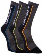 Набор носков HEAD Performance Crew 3Р Unisex 791011001-002 43-46 р 3 пары Серый/Черный (8718824970639) - изображение 1