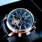 Чоловічі годинники Jaragar Silver Star - зображення 9