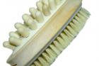 Щітка FROM FACTORY MMQ для душу масажна 2в1 з дерев'яною ручкою 42см - зображення 7