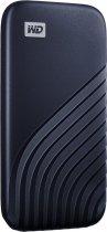 Портативний SSD USB 3.0 WD Passport 2TB R1050/W1000MB/s Midnight Blue - зображення 2