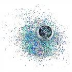 Декор для нігтів Стільники Чорний Голографік - зображення 3