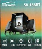 Акустична система Greenwave SA-158BT Black-orange (R0015303) - зображення 4