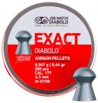Кулі пневм JSB Diabolo Exact 4,5 мм , 0,547 гр. (200 шт/уп) - зображення 1