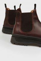 Мужские коричневые кожаные челси ST GRIP Gant 44 21651040 - изображение 2