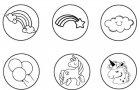 Набір штампиків Centrum Unicorn 6 шт. (80394) (4030969803943) - зображення 2