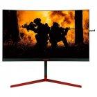 """Монітор AOC 27"""" AG273QCG Black/Red Curved; 2560x1440 (165 Гц), 400кд/м2, 1 мс, HDMI, Displayport, 4хUSB3.0 динаміки 2х2 Вт - зображення 1"""