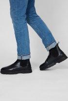 Мужские черные кожаные челси ST GRIP Gant 41 21651040 - изображение 2