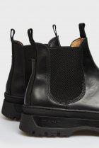 Мужские черные кожаные челси ST GRIP Gant 45 21651040 - изображение 6