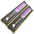 Комплект оперативної пам'яті Corsair DDR2 4Gb (2Gb + 2Gb) 800 MHz PC2 6400U CL5 1.9 V (CM2X2048-6400C5) Б/У - зображення 2