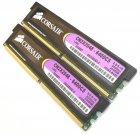 Комплект оперативної пам'яті Corsair DDR2 4Gb (2Gb + 2Gb) 800 MHz PC2 6400U CL5 1.9 V (CM2X2048-6400C5) Б/У - зображення 3