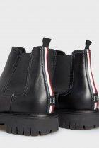 Чоловічі чорні шкіряні челсі CASUAL CHUNKY DRESS Tommy Hilfiger 44 FM0FM03051 - зображення 2