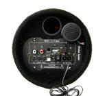 """Колонка бездротовий Сабвуфер 5"""" Bluetooth FM 12В і 220В 500W BOSCA чорна - зображення 3"""