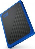 "Western Digital My Passport Go 1TB 2.5"" USB 3.0 Blue (WDBMCG0010BBT-WESN) External - изображение 4"