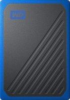 """Western Digital My Passport Go 500GB 2.5"""" USB 3.0 Blue (WDBMCG5000ABT-WESN) External - зображення 1"""