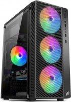 Корпус 1stPlayer A7-500BS-G6 500 W Black - зображення 1