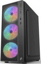 Корпус 1stPlayer A7-500BS-G6 500 W Black - зображення 2