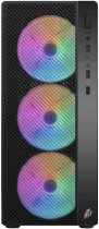 Корпус 1stPlayer A7-500BS-G6 500 W Black - зображення 3