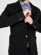 Приталенный пиджак Jack & Jones 216108013 M (83157M) Черный - изображение 4