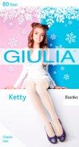 Колготки Giulia Ketty 80 Den (152-158 см) Bianco (4820040181042) - изображение 1
