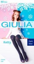 Колготки Giulia Ketty 80 Den (128-134 см) Dark Blue (4823102936970) - изображение 1