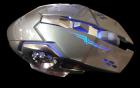 Бездротова ігрова миша на акумуляторі Zornwee CH001 Сіра - зображення 1