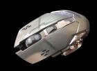 Бездротова ігрова миша на акумуляторі Zornwee CH001 Сіра - зображення 2