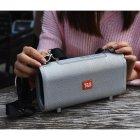 Портативна bluetooth колонка вологостійка TG-123 FM, MP3, радіо Сіра (46846) - зображення 2