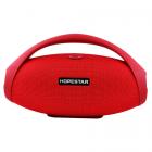 Портативная колонка HOPESTAR H31 BIG, Bluetooth, c функцией speakerphone, радио, Красный - изображение 4