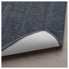 Килимок для ванної кімнати IKEA EMTEN темно-сірий 604.228.89 - зображення 2