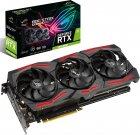Asus PCI-Ex GeForce RTX 2060 Super ROG Strix 8G Gaming EVO 8GB GDDR6 (256bit) (1470/14000) (2 x DisplayPort, 2 x HDMI, 1 x USB Type-C) (ROG-STRIX-RTX2060S-8G-EVO-GAMING) - зображення 8