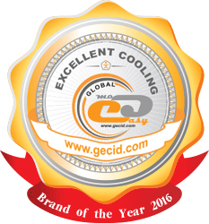GECID Brand of the Year 2016 (Excellent Cooling)