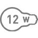 Электрическая мощность 12 Вт