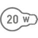 Электрическая мощность 20 Вт