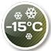 Работает на обогрев до - 15°C